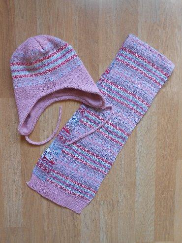 Ostala dečija odeća | Becej: Novo Chicco šal i kapa za devojčice vel 5-8 godina Novo i nekorišćeno