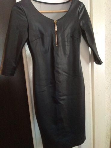 Платье под кожу в отличном состоянии 42 размера. в Бишкек