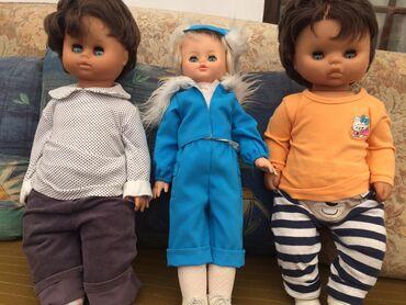 Советские куклы по 1800 одна в белой кофте 1000сом