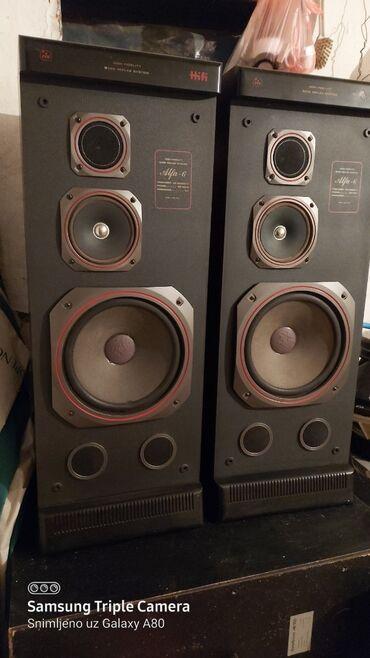 Preko grudi - Srbija: Technics resiver sa daljincem i dva velika zvučnika PovoljnoProdajem