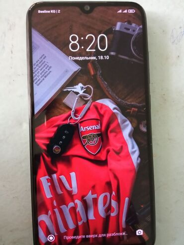 айфон 8 цена ош in Кыргызстан | APPLE IPHONE: Xiaomi Redmi Note 8 | 64 ГБ | Черный | Отпечаток пальца, Две SIM карты, Face ID