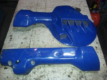 Пластик вилки защитный от HONDA NX650 DOMINATOR 1992 года. Состояние -