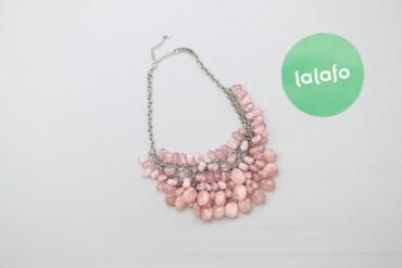 Украшения - Киев: Жіноче намисто з рожевими камінчиками     Стан дуже гарний