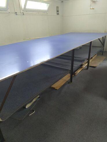 Закройщицы - Кыргызстан: СРОЧНО!!! Продаю закроечный стол длина 5мширина стандартный лист лам
