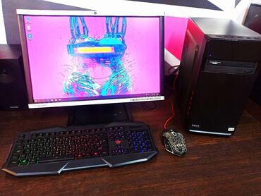 hp 1010 в Кыргызстан: Игровой компьютер в полном комплекте!Мат. Плата : Asus P8H61-MLE USB