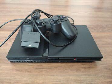 Продам легендарную приставку Sony Playstation 2 В хорошем состоянии