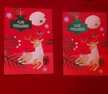Новогодние открытки,привозила с Германии.2 штуки-5 азн