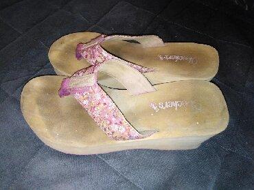 Papuce na platformu, ocuvane bez ostecenja br 37 - Prokuplje