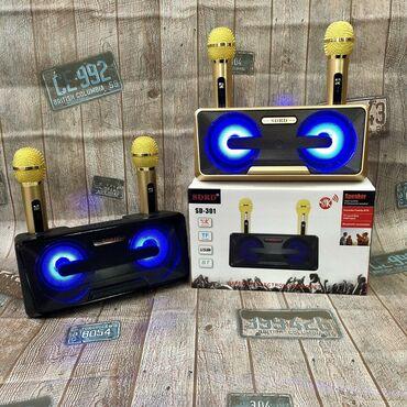 Mikrofonlar - Azərbaycan: Sdrd firmasinin Sd-301 model karaoke kalonkasi2 Simsiz mikrafonu