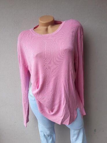 Košulje i bluze | Prokuplje: Bluza sa diskretnim cirkonima bez oštećenja kao nova. Veličina L/XL