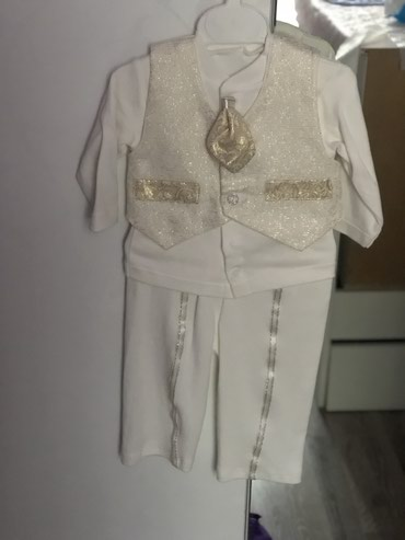 детский костюм для мальчика в Кыргызстан: Детский костюм до 9 месяцев новый