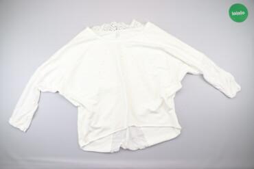 Жіноча легенька блуза з Італії, М    Колір білий Розмір М  Довжина 58