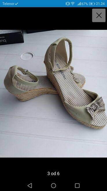 Posao u inostranstvu - Srbija: Biaggini sandale broj 39 povisena peta. U dobrom su stanju ocuvane