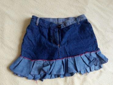Suknja decija duzina 30 cm,sirina 40 cm,obim struka 70 cm - Nis