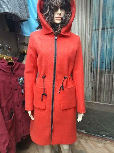 Продаю женские пальто.С капюшоном-44-50р, цвета