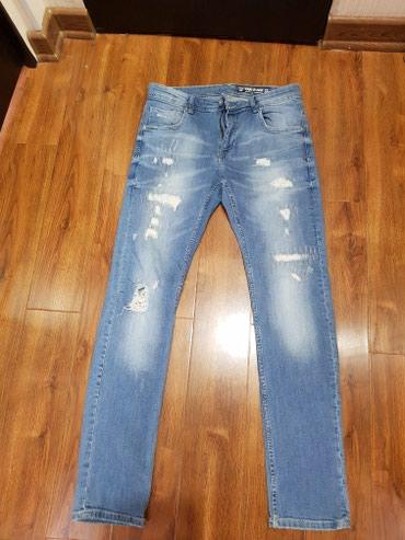 Фирменные джинсы, в отличном состоянии, ношены пару раз. в Бишкек