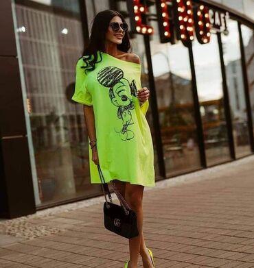 Ženska odeća | Novi Knezevac: Majica, haljina, tunika 1400 jedna pamuk dve 2300