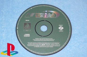 PlayStation 1 One - FORMULA ONE 2001 - Kucevo