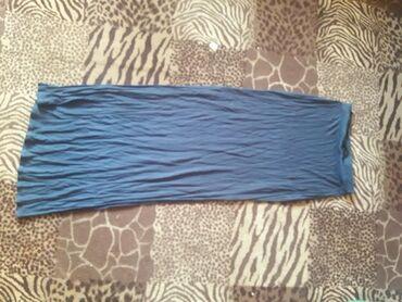 Длинная юбка,по бокам разрезы. одевала пару раз всего . р 46-48 фирмы