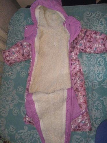 продается комбинезон на девочку,зимний.с подстежкой.полстежка отстёгив в Бишкек