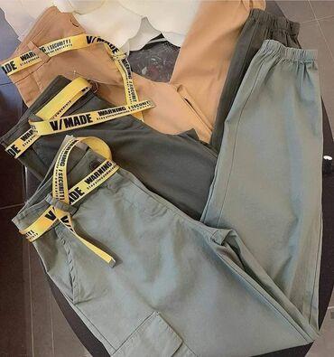 Pantalone 2150 rsd Crna, maslinasta, krem