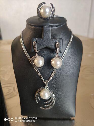 Босоножки серебро - Кыргызстан: Оригинальный подарок!Количество ограничено!Родированный серебро с