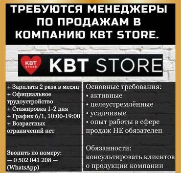Требуются - Кыргызстан: Оператор Call-центра. Без опыта. 6/1