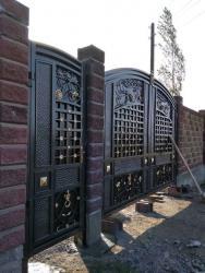 работа и в Кыргызстан: Изготовление откатных и распашных ворот. Любой сложности. Опыт 17 лет