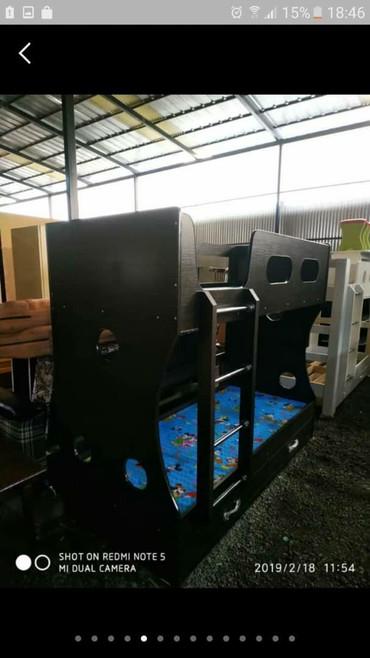 кроксы детские купить в Кыргызстан: Новый двух ярусный кровать доставка установка доставка установка по го