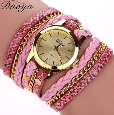 Ženski satovi narukvice Boje kao sa slike: crna, plava, braon, zlatna, - Nis - slika 6