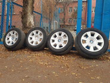 титановые диски бу в Кыргызстан: Для зимы в самый раз Титановые диски BMW БМВR15Разболтовка