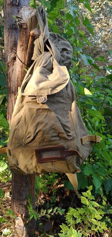 Рюкзаки в Кыргызстан: Продается военный рюкзак. В нем кателок и фляжка