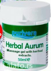 Herbal aurum za masažu sa biljnim ekstraktima pomaže pri otklanjanju - Belgrade
