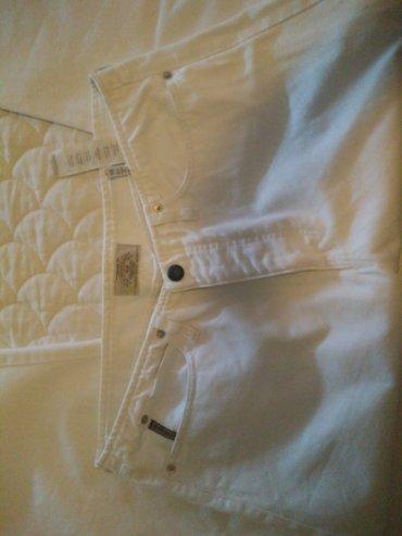 Armani άσπρο καλοκαιρινό παντελόνι . σε Athens