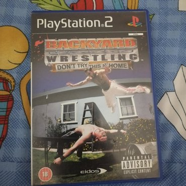 Backyard Wrestling: Don't Try This At Home for PlayStation 2. Only a