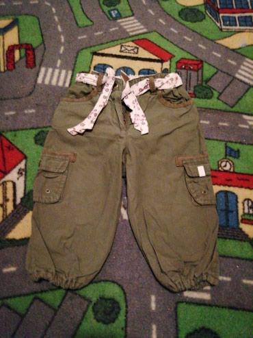 Postavljene pantalone vel 9-12m - Belgrade