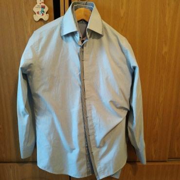 Рубашка мужская размер L , можно для школы в Бишкек
