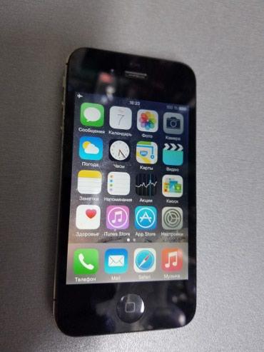 IPhone 4S 16gb black. Из США, в отличном в Бишкек