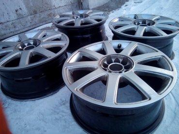 Продаю литые диски R17 Audi, Volkswagen. Идеальные. 5*112 и 5*100. в Бишкек