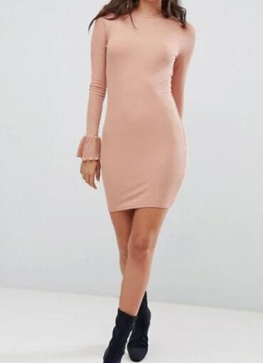 Haljina materijal elastin - Srbija: ASOS ribbed haljina, nova sa etiketomNova Asos haljina, sa etiketom