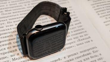Другие аксессуары для мобильных телефонов - Бишкек: Продаю Apple Watch series 4 44mm Состояние идеальное,полный