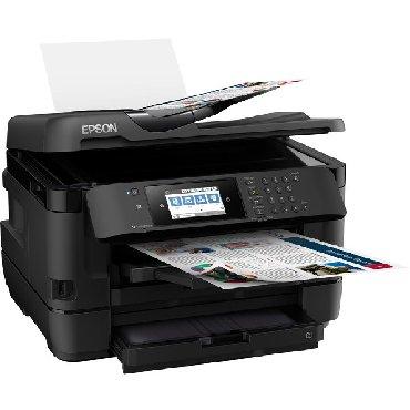 printer tx650 в Кыргызстан: Мфу А3 формат 4 цвета. EPSON WF7720 ПРИНТЕР-СКАНЕР-КОПИР-ФАКС