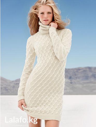 все цвета в Кыргызстан: Victoria's secret turtleneck sweaterdress. Цвет winter white. Размер