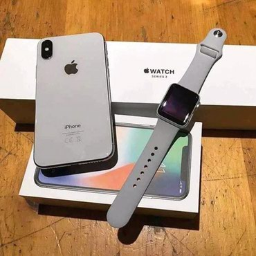 APPL IPHONE X + WATCH - Tutin