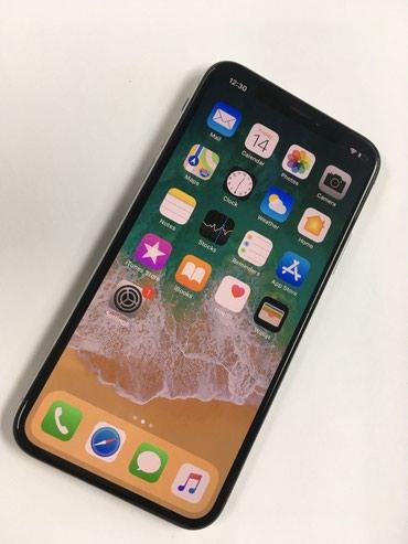 Iphone X 256 Silver,  идеальное состояние, в Беловодское