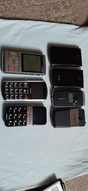 Elektronika - Vranje: Telefoni jeftini neispitani, za starije osobe i ne sa slabiji vidom