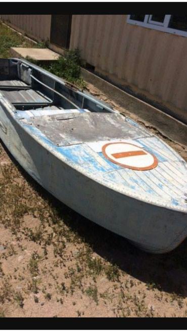 Водный транспорт - Кыргызстан: Лодка аллюминиевая. прошу 37000сом. тел . течь есть, но не критично