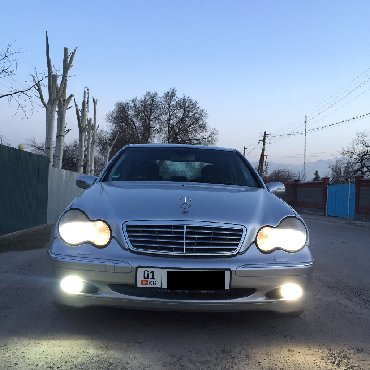 Mercedes-Benz в Кыргызстан: Mercedes-Benz C 240 2.6 л. 2001 | 262000 км