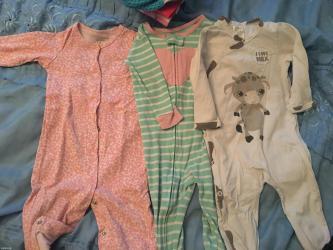 Продаю детские вещи б/у на новорождённых и до 1 года. В хорошем в Бишкек