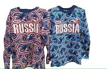 Russia kofdasi yenidir 30 azn iki rengi var  Goy /qirmizi